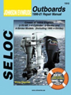 Johnson/Evinrude Outboards 1996-01 Repair Manual: All Inline Engines, 2 and 4-Stroke, 1-4 Cyl (Paperback)
