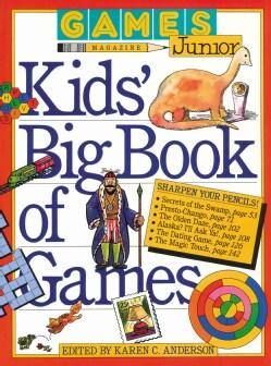 Kids' Big Book of Games (Paperback)