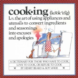 Cooking: A Cook's Dictionary (Paperback)