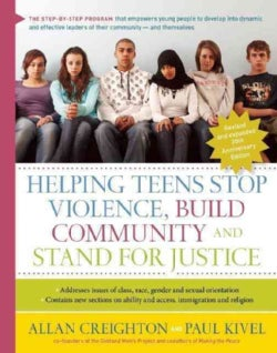 Helping Teens Stop Violence, Build Community and Stand for Justice: Twentieth Anniversary Edition (Paperback)