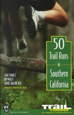 50 Trail Runs in Southern California (Paperback)