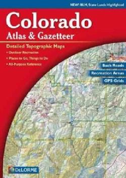 Colorado Atlas and Gazetteer (Paperback)