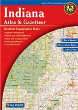 Indiana Atlas & Gazetteer (Paperback)