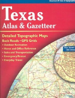 Texas Atlas and Gazetteer (Paperback)