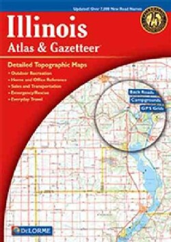 Illinois Atlas & Gazetteer (Paperback)