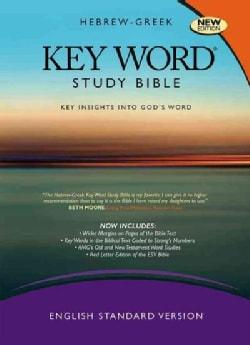Hebrew-Greek Key Word Study Bible: English Standard Version, Black, Genuine Leather: Key Insights Into God's Word
