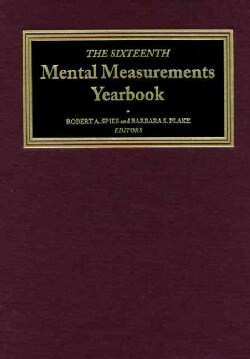 The Sixteenth Mental Measurements Yearbook (Hardcover)