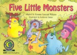 Five Little Monsters (Paperback)