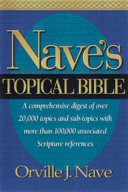 Nave's Topical Bible (Hardcover)