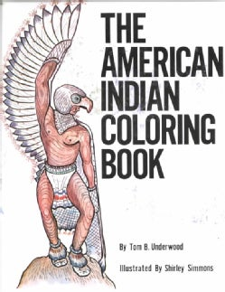 The American Indian Coloring Book (Paperback)