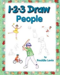 1-2-3 Draw People (Paperback)