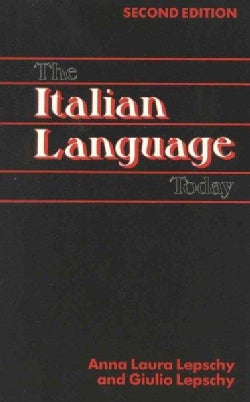 Italian Language Today (Paperback)