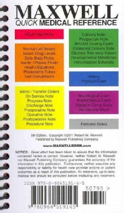 Maxwell Quick Medical Reference (Paperback)