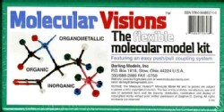Molecular Visions: The Flexible Molecular Model Kit (Hardcover)