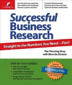 Successful Business Research: Straight to the Numbers You Need - Fast! (Paperback)