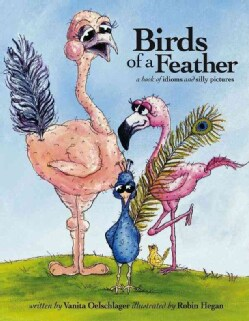 Birds of a Feather: A Book of Idioms and Silly Pictures (Hardcover)