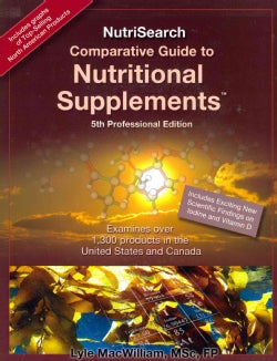 NutriSearch Comparative Guide to Nutritional Supplements (Paperback)