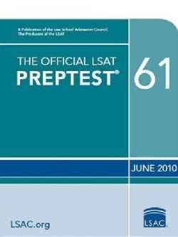 The Official LSAT Preptest 61: Prep Test 61/Form Olsn86/October 2010 (Paperback)