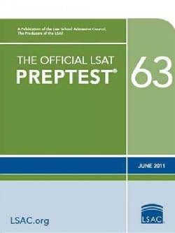 The Official LSAT Preptest 63: June 2011 (Paperback)