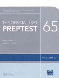 The Official LSAT Preptest 65: December 2011 (Paperback)