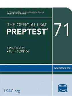 The Official LSAT Preptest 71: December 2013 (Paperback)