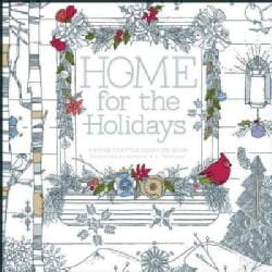 Home for the Holidays: A Hand-Crafted Adult Coloring Book (Paperback)