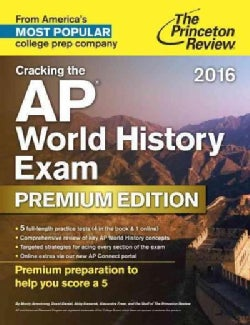 The Princeton Review Cracking the AP World History Exam 2016 (Paperback)