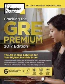 The Princeton Review Cracking the GRE 2017 (Paperback)