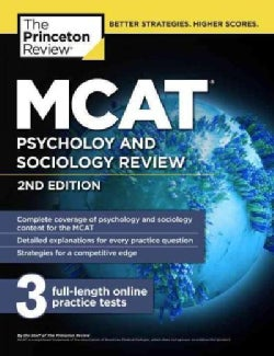 MCAT: Psychology and Sociology Review (Paperback)