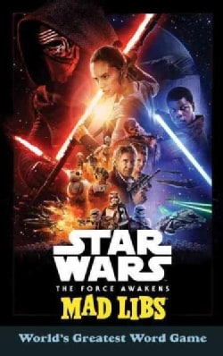 Star Wars the Force Awakens Mad Libs (Paperback)
