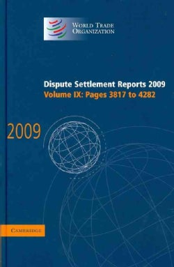 Dispute Settlement Reports 2009 (Hardcover)