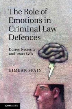The Role of Emotions in Criminal Law Defences: Duress, Necessity and Lesser Evils (Hardcover)