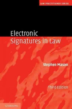 Electronic Signatures in Law (Hardcover)