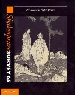 Shakespeare Survey 65: A Midsummer Night's Dream (Hardcover)