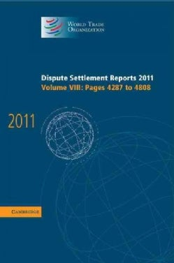 Dispute Settlement Reports 2011 (Hardcover)