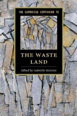 The Cambridge Companion to the Waste Land (Hardcover)