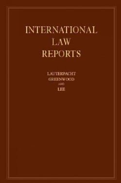 International Law Reports (Hardcover)