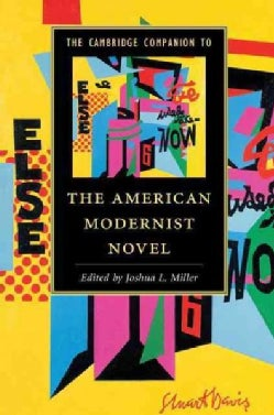 The Cambridge Companion to the American Modernist Novel (Hardcover)