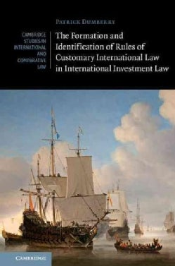 The Formation and Identification of Rules of Customary International Law in International Investment Law (Hardcover)