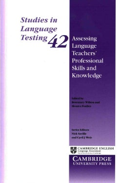 Assessing Language Teachers' Professional Skills and Knowledge (Paperback)