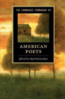 The Cambridge Companion to American Poets (Paperback)