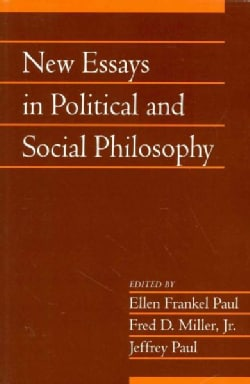 New Essays in Political and Social Philosophy (Paperback)
