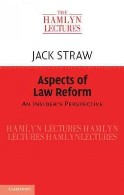 Aspects of Law Reform: An Insider's Perspective (Paperback)