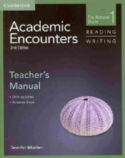 Academic Encounters: Reading and Writing, Unit Quizzes, Answer Keys (Paperback)