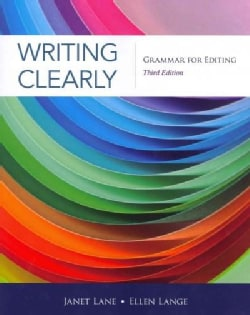Writing Clearly: Grammar for Editing (Paperback)