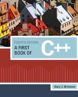 A First Book of C++ (Paperback)