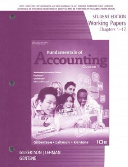 Fundamentals of Accounting Course 1: Chapters 1-17 (Paperback)