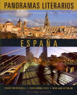 Panoramas literarios: Espana (Paperback)