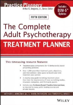 The Complete Adult Psychotherapy Treatment Planner: Includes Dsm-5 Updates (Paperback)