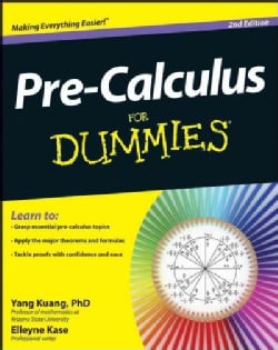 Pre-Calculus For Dummies (Paperback)